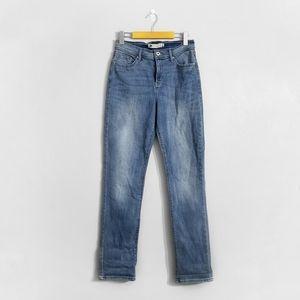 LEVI'S 512 High Rise Straight Leg Jeans